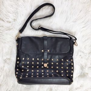 Forever 21 Studded Crossbody Bag